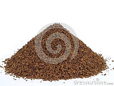 Granulated coffee