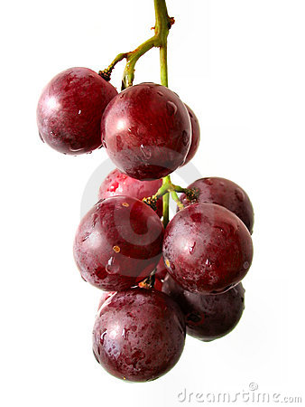 Free Grape Bunch Isolated Royalty Free Stock Image - 233116