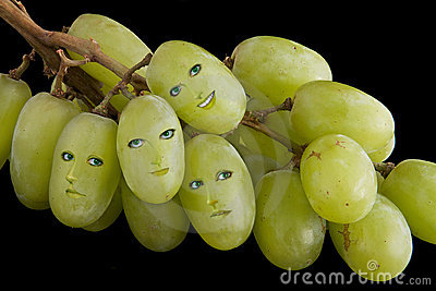 Grape faces