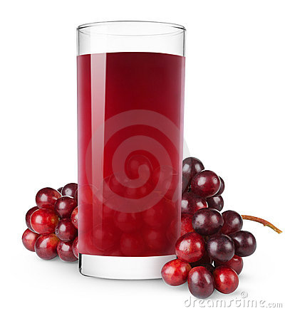 Free Grape Juice Royalty Free Stock Photo - 18764005
