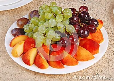 Grape and peach 5