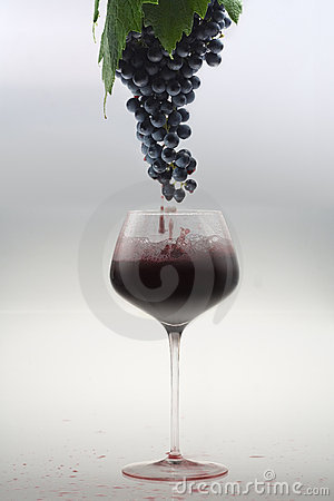 From the grape to the glass