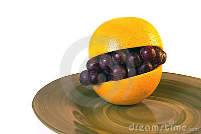 Grapefruit Obraz Royalty Free - Obraz: 23806366