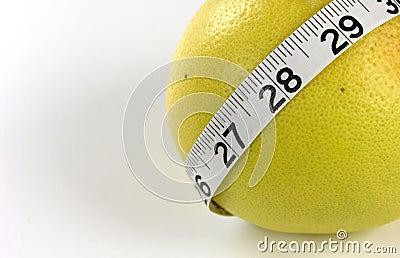Grapefruit Measuring Tape