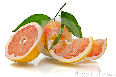 Grapefruit slice