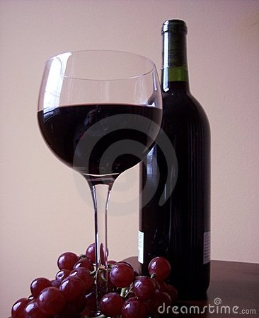 Free Grapes And Wine Royalty Free Stock Photography - 76617