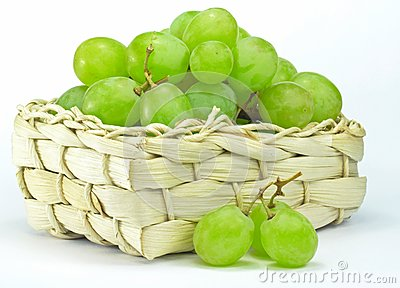 Grapes in a basket