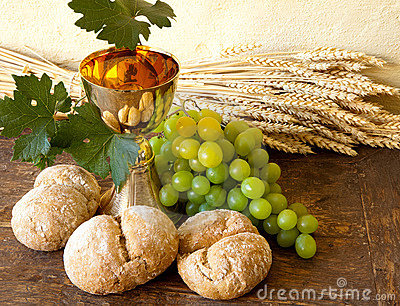 Grapes for holy wine