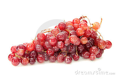 Grapes, isolated.