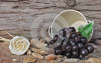 Grapes in a jar