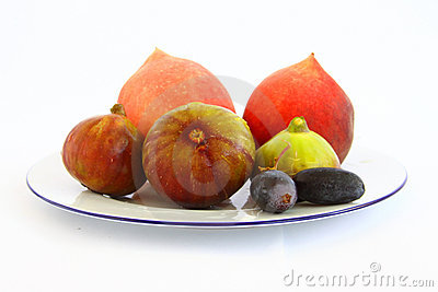 Grapes peach figs
