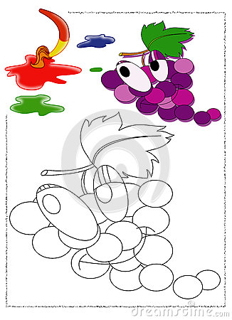 Grapes to color