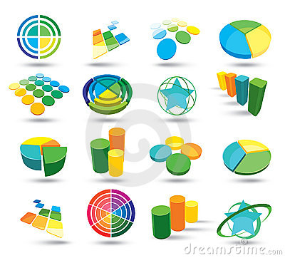 Free Graph Illustrations Royalty Free Stock Photo - 12215465