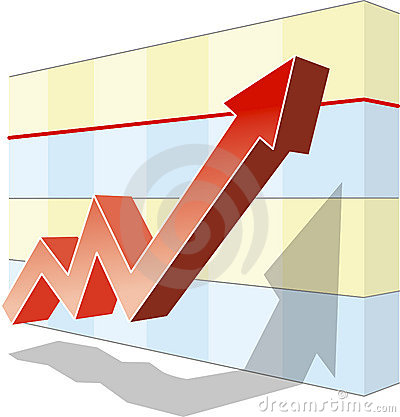Free Graph Of Success Stock Photography - 326902