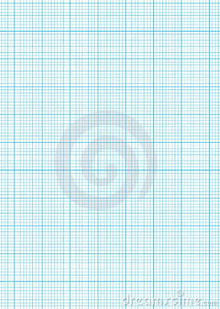 Graph Paper A4 Sheet Royalty Free Stock Images Image