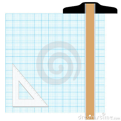 Drafting compass drawing plan design circle royalty free for Online graph paper design tool