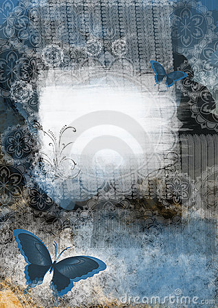 Graphic card with butterfly
