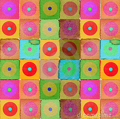 Graphic design background circles