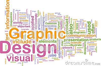 Graphic design background concept