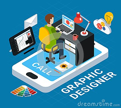 Free Graphic Design Concept Royalty Free Stock Images - 124494939