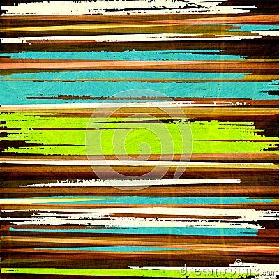 Graphic design stripes