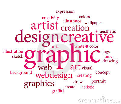 Graphic design tags