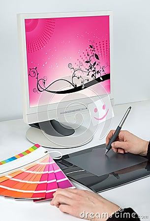 Graphic designer occupation