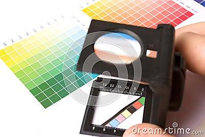 Graphic designer or printer