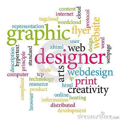 Graphic designer tags