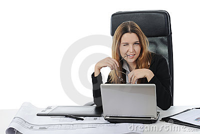 Graphic designer working using pen tablet