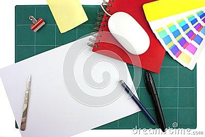 Graphic designers desktop