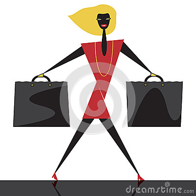 Graphic Fashion Shopping Stock Photos - Image: 29061723