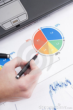 Graphic and finance