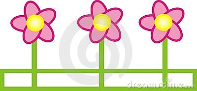 Graphic flower illustration