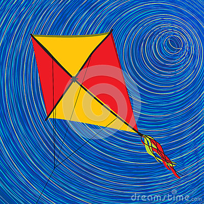 Graphic kite