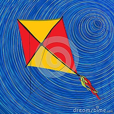 Graphic kite