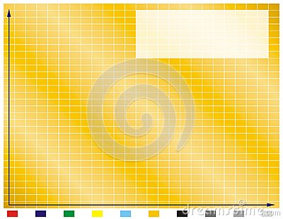 Graphic sheet with grid