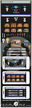 Graphical user interface for games and software