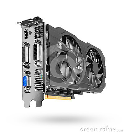 Free Graphics Card Royalty Free Stock Photo - 50836595