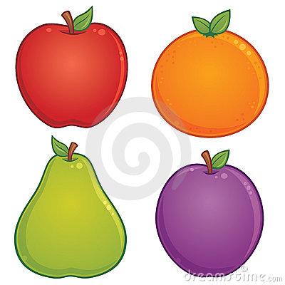 Graphismes de fruit
