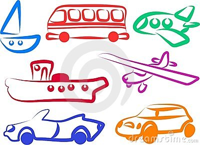 Graphismes de transport
