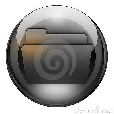 Graphite folder button
