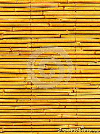 Égrappe une usine un bambou