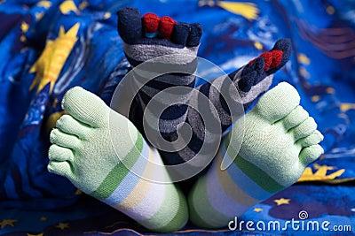 Grappige voeten