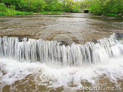 Grasland-Nebenfluss-Fälle Illinois