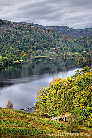 Grasmere In Early Autumn Royalty Free Stock Image - Image: 3391366