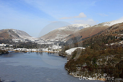 Grasmere and Helvellyn from Loughrigg Terrace, UK