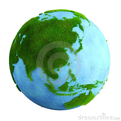 Grass earth - asia
