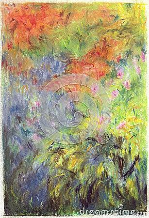 Free Grass, Flowers Painting. Stock Photos - 12695223