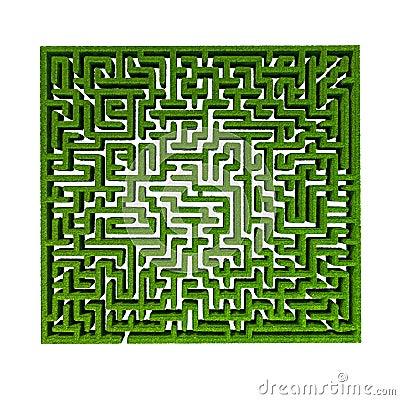 Grass maze